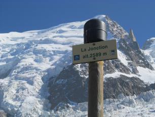 Randonnée à Chamonix - La Jonction