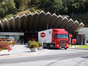 The Mont Blanc Tunnel - French Entrance