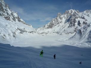 Ski la Vallée Blanche , La Mer de Glace