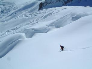 Powder Ski - Grand Envers - The Vallée Blanche Chamonix