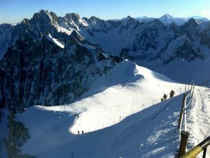 Ridge Aiguille du Midi - Chamonix