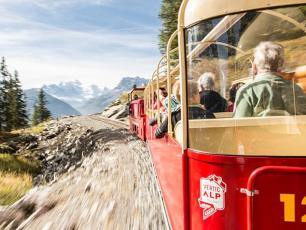 Le train panoramique. Copyright @verticalp-emosson.ch