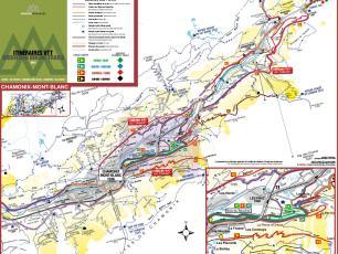 Cartes VTT/Mountain Bike de la Vallée de Chamonix