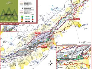 Chamonix Mountain Bike Maps