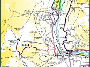 Cartes VTT/Mountain Bike et sentiers de la Vallée de Chamonix