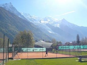 Tennis Court in Chamonix
