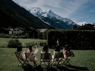 Mariage à Chamonix Mont-Blanc