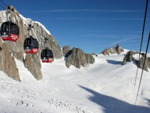 The Panoramic Mont Blanc gondola
