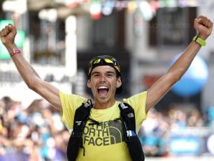 Pau Capell will defend his title in 2020. In 2019, he finished the race in the second-fastest time ever, photo source @ledauphine.com