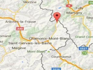Earthquake 3.3 near Chamonix
