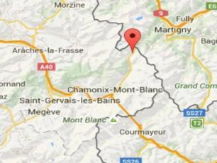 Chamonix map