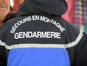 The PGHM of Chamonix will patrol the Mont-Blanc massif. Photo source @radiomontblanc.fr