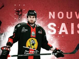 The Pioneers of Chamonix are playing in the Ligue Magnus season 2019/20, photo source @https://www.facebook.com/PionniersChamonix/
