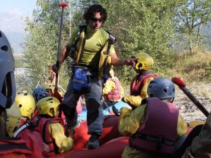 Rafting à Passy sur l'Arve
