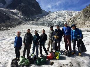 Cleaning Up the Mer de Glace 2016