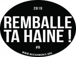 Remballe ta Haine festival, 6th edition poster