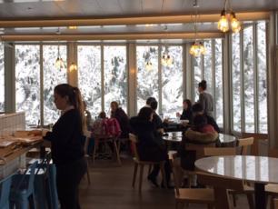 restaurant le panoramique mer de glace maisons h tels. Black Bedroom Furniture Sets. Home Design Ideas