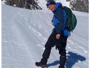 Highly regarded British doctor, Robert Bailey, was found dead in a river in the French Alps