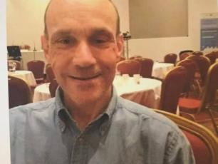 Robert Bailey (63) is described as being tall, skinny and a little bald. He was last hiking in Les Houches wearing blue jacket, dark trousers and a green bag. photo source @facebook PGHM Chamonix
