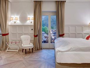 Grand Hotel des Alpes rooms have been renovated