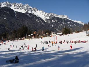 The Planards Ski Resort in Chamonix Mont Blanc Valley