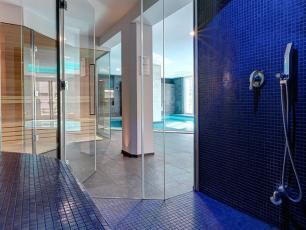 The guests at the Grand Hotel des Alpes can enjoy a relaxing day at the SPA