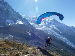 Fatal speed-flying accident at clos du Savoy | Chamonix net