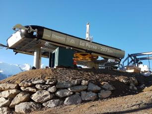New Parsa chairlift at Brévent ski area. photo source: @www.compagniedumontblanc.fr