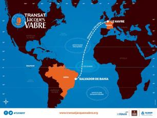 La course Transat Jacques Vabre 2017. Photo source: @www.transatjacquesvabre.org