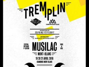 Maison Tremplin chamonix: be on the stage for the opening of musilac mont blanc with