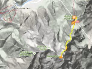 Trois Monts, about 5km distance @Google maps