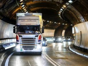 The Mont Blanc Tunnel. photo source: www.radiomontblanc.fr