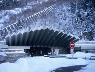 Mont-Blanc Tunnel French entrance