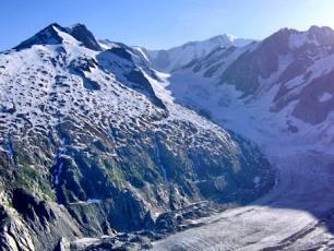 Tré-La-Tête Glacier, Mont-Blanc massif