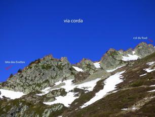 Via Corda Ferrata - Chamonix. crédit photo : @www.compagniedumontblanc.fr