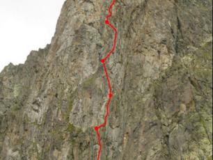Tour des Crochues : route De Galbert. photo source : @http://www.camptocamp.org