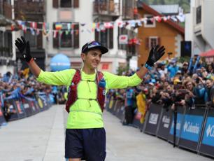 Xavier Thevenard UTMB 2018. Photo source: @runningmagazine.ca