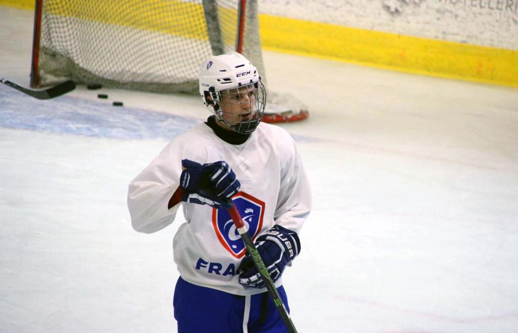 Teemu Loizeau, new attacker of the Pioneers. Photo source: @www.pionniers-chamonix.com