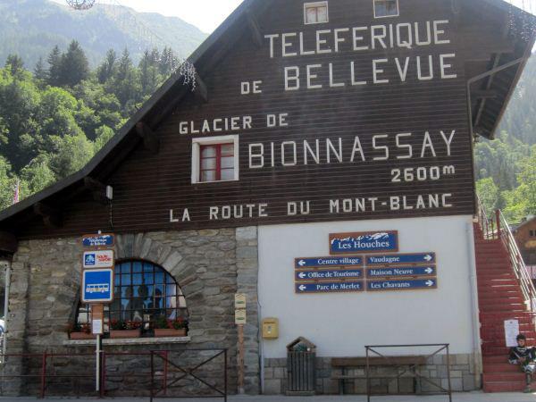 Telepherique de Bellevue Les Houches