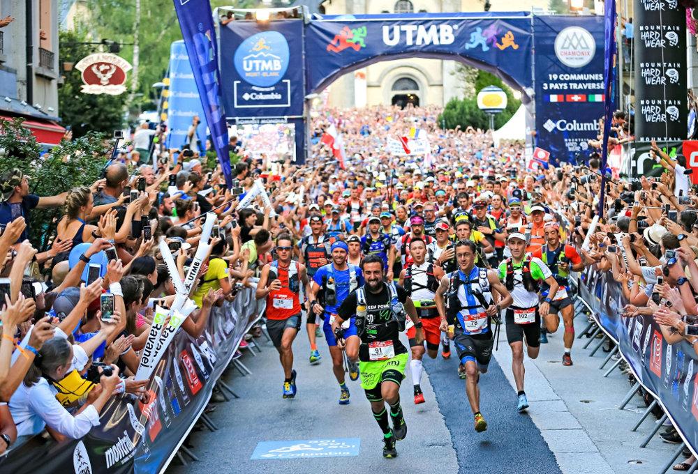 UTMB. Photo source: @http://wondertrail.fr