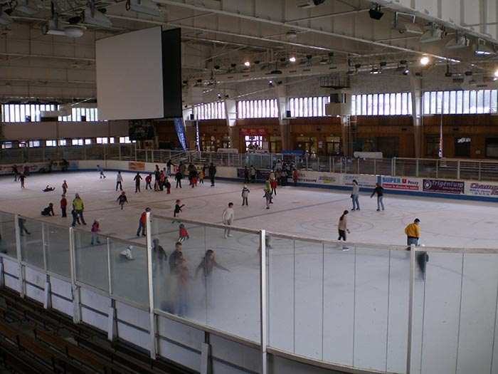 Richard Bozon ice rink
