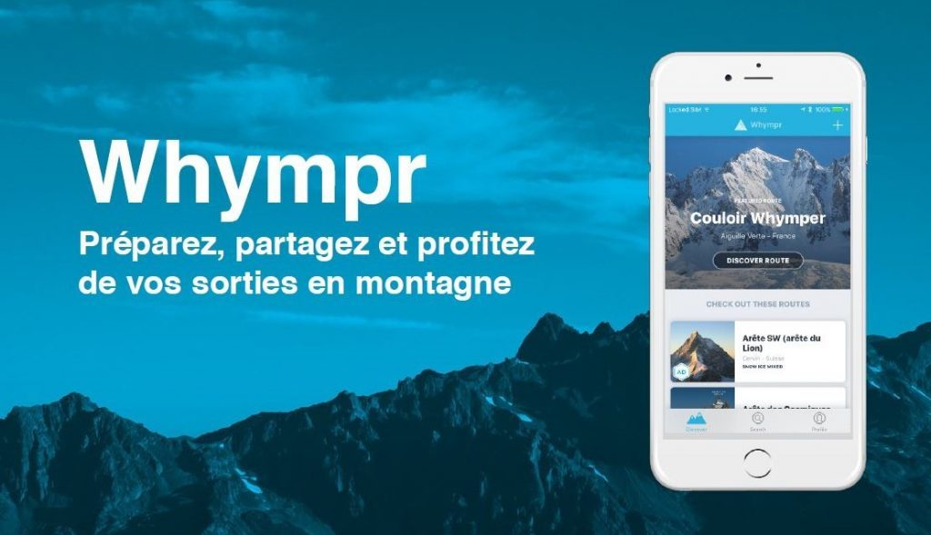 Whympr: new application for your mountain trip