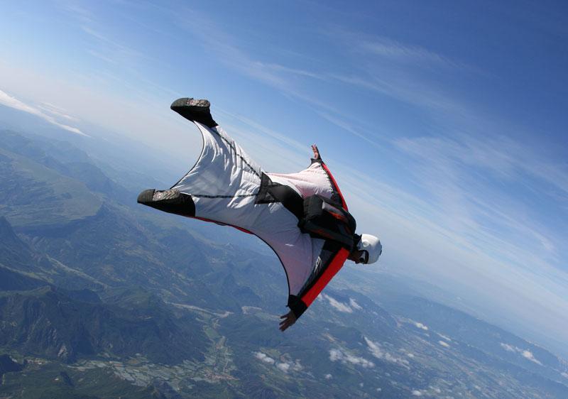 Alfa img - showing wingsuit hd background